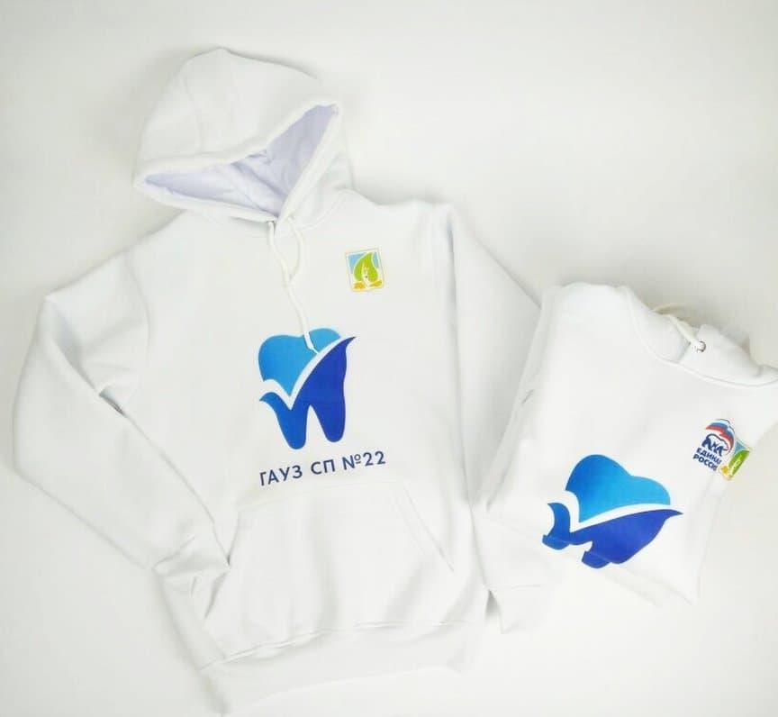 Нанесение логотипа на одежду полноцветной печатью